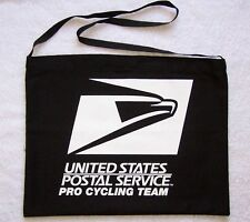 USPS PRO CYCLING TEAM MUSETTE BAG DUO BLACK AND WHITE **
