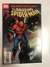 Amazing Spiderman (2008) #550 (NM) 1st Full App. Menace
