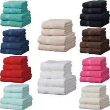 Egyptian Cotton Linens Limited Solid Pattern Bath Towels