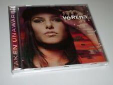 VERENA TAKEN UNAWARE CD ALBUM POP 2004 FALLING / CLOSE MY EYES / RAIN / (YZ)