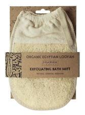 Hydrea London orgánicos lufa egipcio baño guante Oval Pad exfoliante depurador