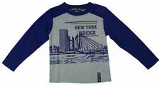 T-shirts, débardeurs et chemises bleu à manches longues pour garçon de 14 ans