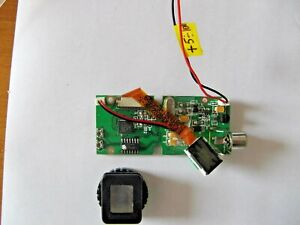 LCD Color Micro monitor with Lense, AV input, night vision 3D case file 320x240