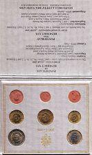 VATICANO 2006 set 8 PEZZI pièces EURO PAPA Benedetto XVI Vatikan RATZINGER