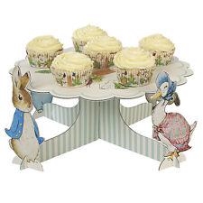 PETER RABBIT CUPCAKE / CAKE STAND, BABY SHOWER / 1st BIRTHDAY PARTY