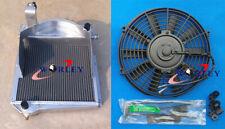 Aluminum Radiator & fan for Austin Healey Sprite Bugeye / MG Midget 1958-1967