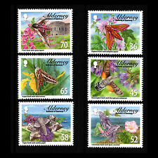 "Alderney 2011 - Moths ""Alderney Hawkmoths"" Insects - Sc 397/402 Mnh"