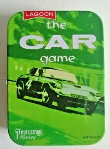 NEW THE CAR CARD GAME - A PEPYS CLASSIC FROM LAGOON GAMES - IN PRESENTATION TIN