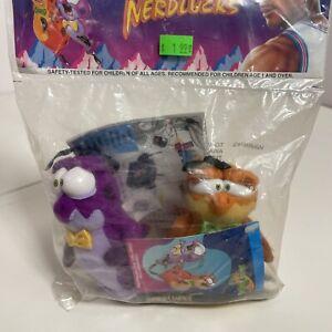 Vintage 1996 McDonald's Space Jam NERDLUCKS Plush Stuffed Toy - Factory Sealed