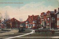 TORONTO CANADA CHESTNUT PARK ROSEDALE 1917 POSTCARD