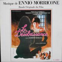 ENNIO MORRICONE OST LA DESOBEISSANCE LP French 1981  ex