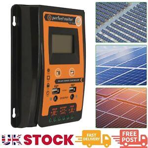 12/24V 30A MPPT Solar Charge Controller Panel Battery Regulator LCD Display UK