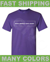 Donald Trump Make America Safe Again T Shirt Police Officers Safety Republican