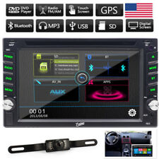 """Double 2Din 6.2"""" Car DVD MP3 MP5 Player Touch Screen In Dash Stereo Radio GPS BT"""