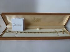 Clogau Gold, 9ct Yellow & Rose Gold T-Bar Charm Bracelet, 7 3/4''.