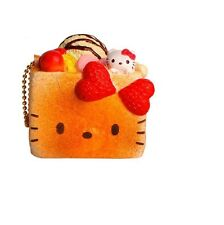 1 pc HELLO KITTY BLOCK TOAST ICE CREAM Squishy Charms toy with TAG GREAT GIFT
