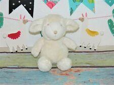 "Baby Gap Sheep Lamb Beige Super Soft Stitched Face 10"" Plush Stuffed Lovey Toy"