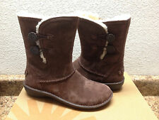 UGG KIMBRA CHOCOLATE WATER RESISTANT SUEDE LEATHER BOOTS US 8 / EU 39 / UK 6.5