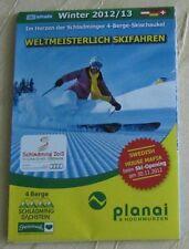 Infokarte Planai & Hochwurzen Im Herzen der Schladminger 4-Berge-Skischaukel
