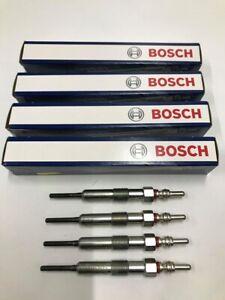 4x Bosch Glow Plugs For Nissan Qashqai 1.5 dCi O/E Quality