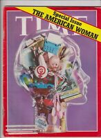 Time Magazine The American Woman March 20, 1972 110619nonr