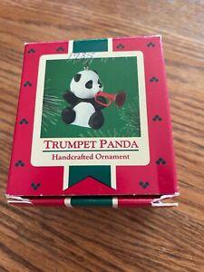 "Hallmark ""Trumpet Panda"" Ornament 1985"