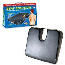 Deluxe ortopédicos asiento posterior del cuello Lumbar dolor ayuda a la movilidad silla almohadilla del coche