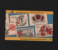 OPC 1985 Germany DDR Steam Engine Booklet of 10 Sc#2486 MNH