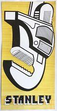 Dessin Original Encre Projet Publicité Clé à Molette STANLEY c.1980