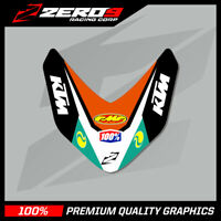 KTM SX 85 2013-2017 FRONT FENDER DECAL MOTOCROSS GRAPHICS MX STICKER -TI