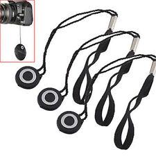 5pcs Lens Cap Cover Keeper Holder String Leash Strap Camera For Nikon Canon Sony