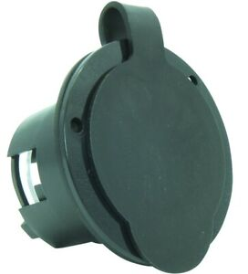 30 Amp NEMA L14-30P Male Locking Flanged Power Input Inlet With Cover cUL-Listed