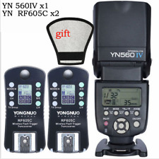 YONGNUO YN560IV Flash Speedlight For Canon Nikon Pentax Olympus &RF-605C Trigger
