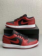 Nike Air Jordan 1 Retro Low Reverse Bred Multiple Sizes 553558-606