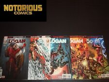 Old Man Logan 31 32 33 34 35 Complete Comic Lot Run Set Marvel Scarlet Samurai