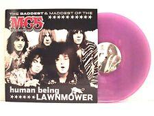 MC5 HUMAN BEING LAWNMOWER LP U.S. 2002 RARE PURPLE VINYL UNRELEASED SONGS