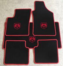 Autoteppich Fußmatten Kofferraum Set für Dodge Durango rot ab 2010 Velours Neu