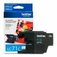 NEW Brother Printer LC71C Standard Yield Cyan Ink