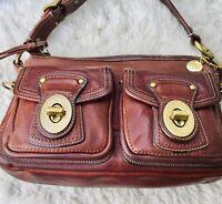 Coach 65th Anniversary Legacy Whiskey Brown Hand Bag 10328