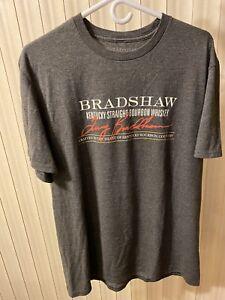 Rare Terry Bradshaw Bourbon Promo T Shirt Size Large L Steelers NFL