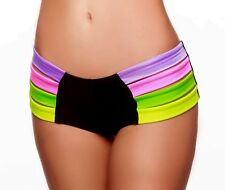 STRAPPY MINI MULTI SHORTS POLE DANCING FITNESS FESTIVE PERFORMANCE SHOW OUTFIT