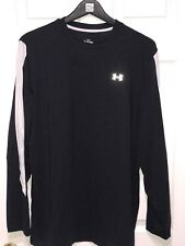 Under Armour Large Long Sleeve Black And White