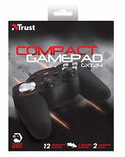 Confianza gxt24 Compacto Pc Gamepad, 2 Joysticks, de 8 direcciones D-pad 16 Botones (4 Hombro)