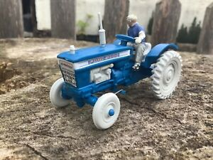 1968 Britains 1/42 scale mini set no 1101 Ford 5000 tractor kit built set boxed
