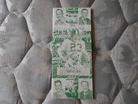 1955 MONTANA FOOTBALL MEDIA GUIDE Yearbook Press Book Program College  Mon AD