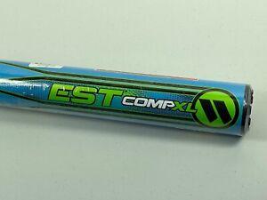 """New 2018 Worth EST Comp XL USSSA Slowpitch Softball Bat 28oz WESTMU Blue 34"""" NIW"""