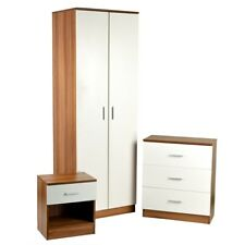 Homegear 3 piece Bedroom Furniture set White