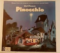 Walt Disney Pinocchio Original Soundtrack Vinyl LP 12 INCH
