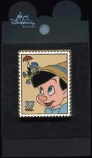 First Day of Issue Collection Friendship Pinocchio and Jiminy Disney Pin 39791