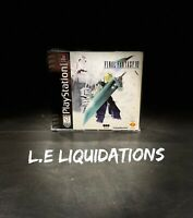 FINAL FANTASY VII 7 (Sony Playstation 1, PS1, 1997) Black Label
